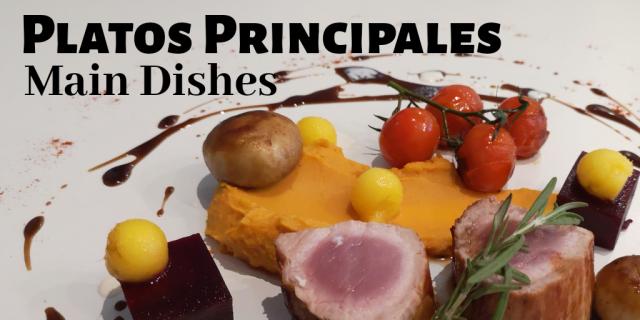 Platos Principales / Main Dishes